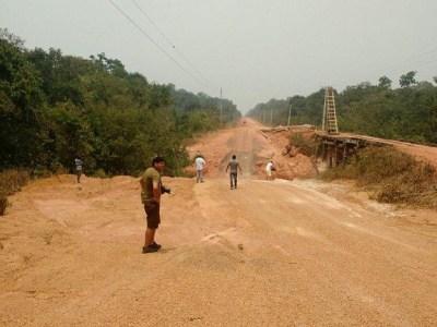 Justiça Federal libera obras em trecho da BR-319 que liga Manaus a Porto Velho