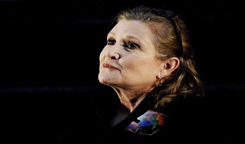 Carrie Fisher, a Princesa Leia de ´Star Wars` consumiu cocaína, heroína e ecstasy antes de morrer