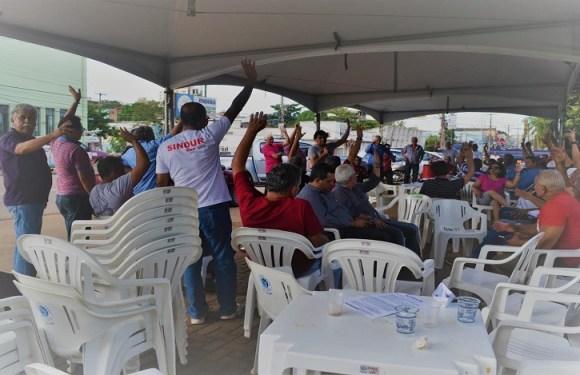 Trabalhadores da Ceron e Eletronorte aprovam indicativo de paralisação de 72 horas