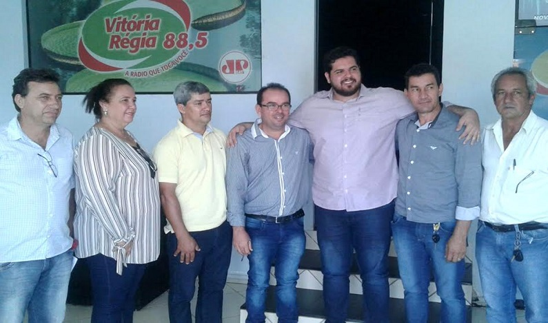Jean Oliveira parabeniza Nova Brasilândia D'Oeste no seu 30º aniversário