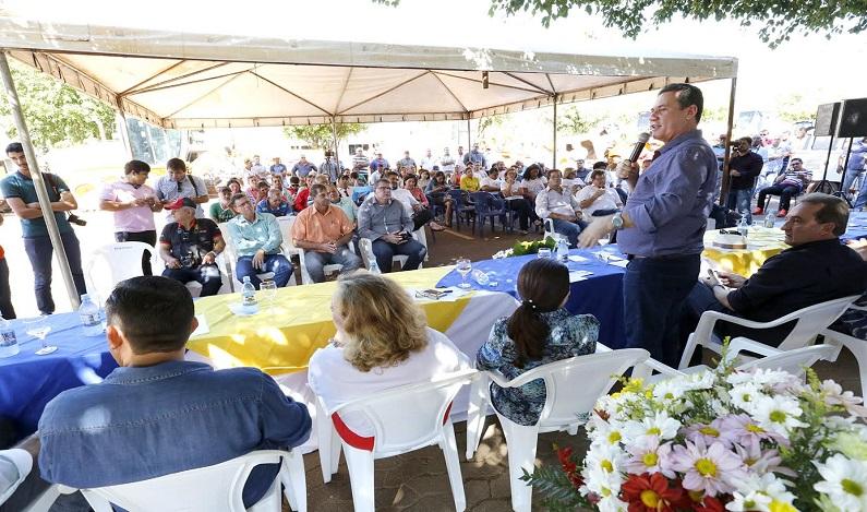 Maurão de Carvalho prestigia lançamento do programa Rolim Cidade Linda