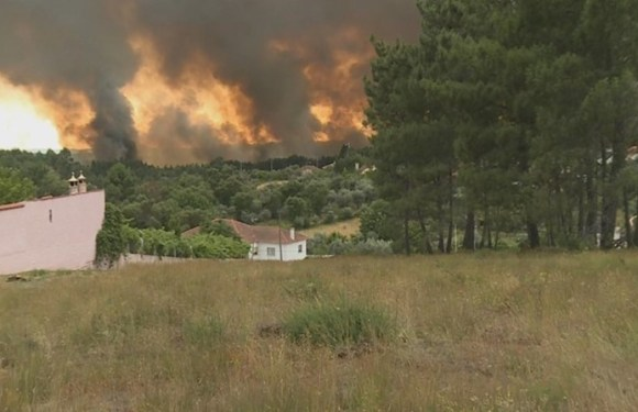 Portugal diz que incêndio em Pedrogão Grande está quase controlado