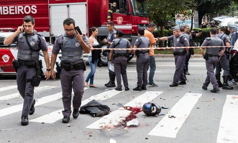PM à paisana é assassinado em movimentado cruzamento em SP