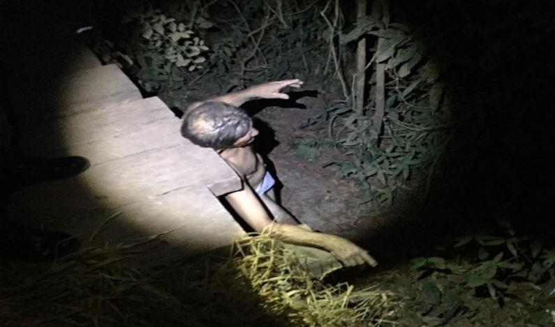 Família espanca suspeito de estuprar criança de 6 anos e o joga de ponte em MT