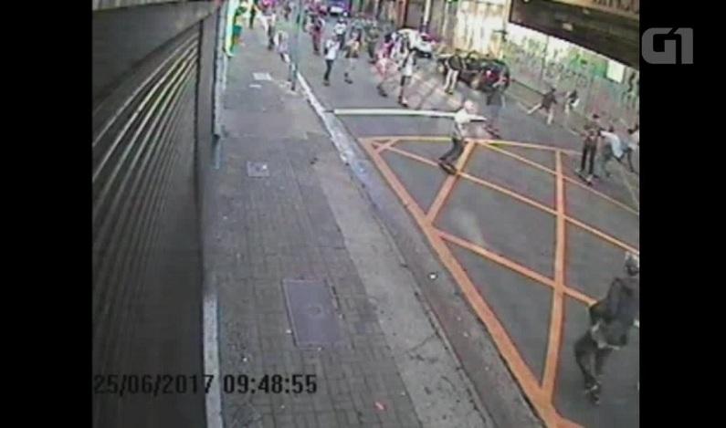 Vídeo mostra skatistas atacando carro de motorista antes do atropelamento na Rua Augusta
