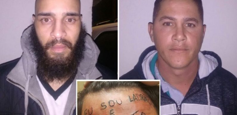 """""""Compartilharam a imagem dele fazendo julgamento sem conhecer os fatos"""", diz advogado sobre rapaz tatuado na testa"""
