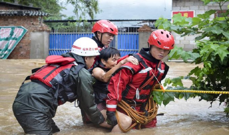 Inundações deixam mais de 40 mortos na China