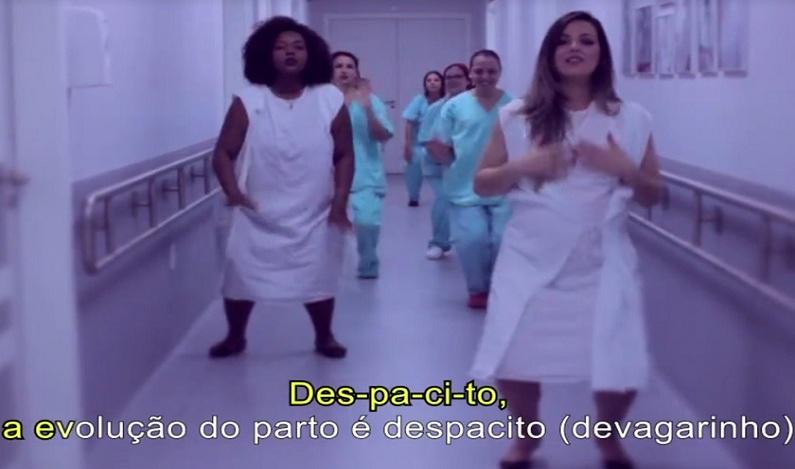"""Hospital faz versão de """"Despacito"""" para falar de parto humanizado; vídeo"""
