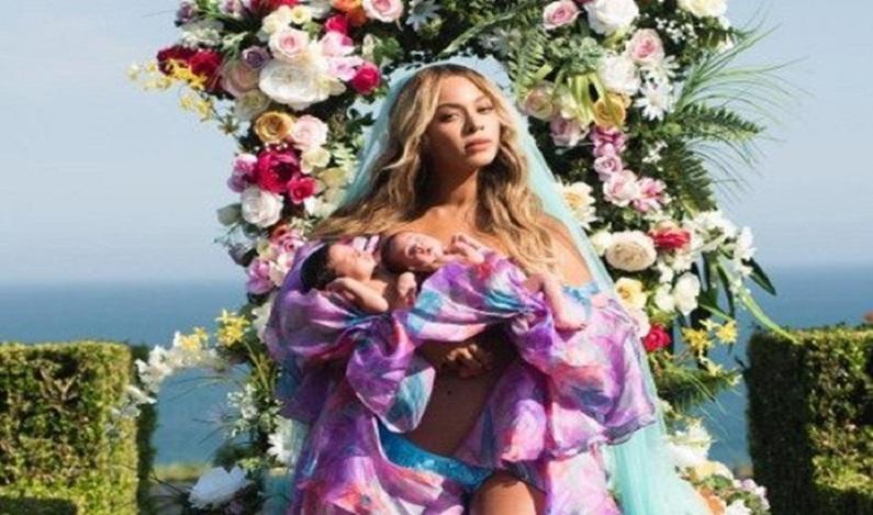 Mãe de gêmeos tenta imitar foto de Beyoncé e resultado viraliza
