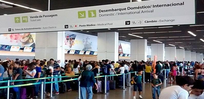 Ameaça de bomba em Aeroporto de Brasília atrasa voo para Curitiba