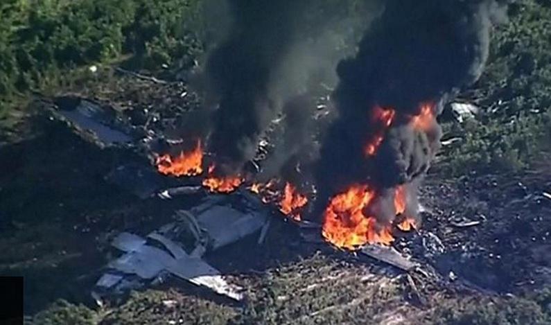 Queda de avião militar nos EUA mata ao menos 16 pessoas