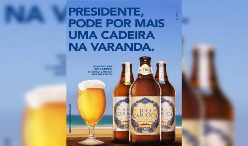 Cervejaria usa condenação de Lula para fazer provocação