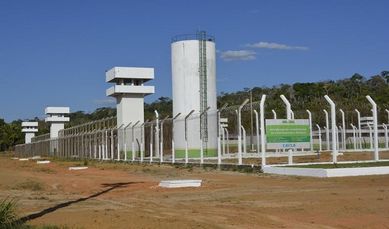 Após 7 anos de obras atrasadas, presídio de R$ 10 milhões é inaugurado em RO