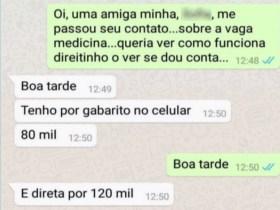 Polícia prende em Goiás grupo suspeito de fraudar vestibulares de medicina