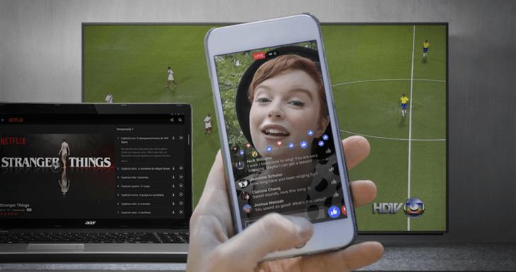 Facebook agora quer competir com TVs, Youtube e Netflix