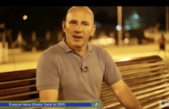 Com dinheiro público, Ezequiel Neiva começa a fazer campanha eleitoral