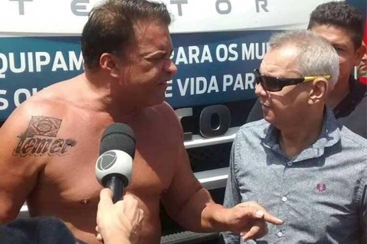 Tá explicado, Temer liberou R$ 6,6 milhões em emendas a deputado da tatuagem