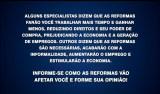 """SBT é proibido de exibir chamadas """"duvidosas"""" sobre reformas de Temer"""