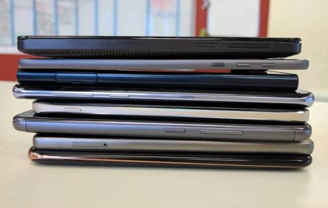 Veja os 10 smartphones que mais perderam valor no último ano