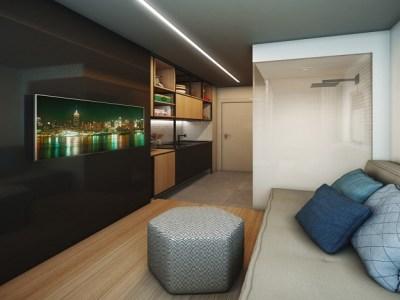 Construtora lança apartamentos de 10 metros quadrados em São Paulo