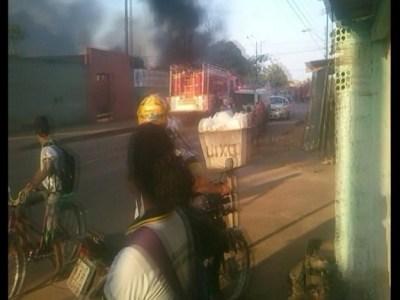 Incêndio destrói seis salas da escola Marcos Freire, em Porto VelhoIncêndio destrói seis salas da escola Marcos Freire, em Porto Velho