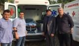 Cleiton Roque apresenta ambulâncias de Espigão do Oeste e distrito de Pacarana