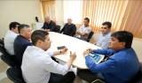 Deputado Cleiton Roque recebe empresário sul-coreano interessado em parcerias com o Estado