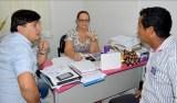 Cleiton Roque visita escola em Cacoal e aciona Seduc para melhorar infraestrutura