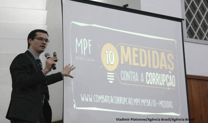 Corregedorias reconhecem legalidade das palestras de Dallagnol