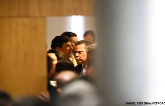 Governadores fazem ato de apoio a Maggi após delação de Silval Barbosa