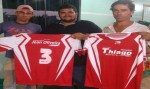 Jean Oliveira e vereador Thiago incentivam o esporte em Santa Luzia do Oeste