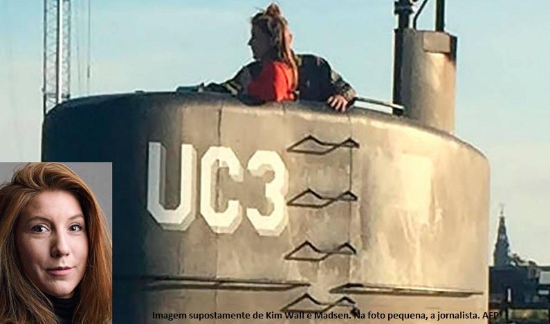 Cabeça e pernas de jornalista morta em submarino caseiro são encontrados