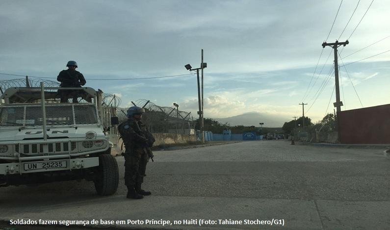 Prestes a deixar Haiti, militares do Brasil são atacados em base da ONU no interior do país