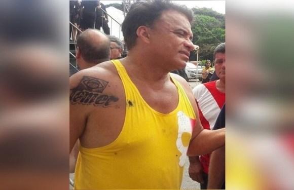 'Sumiu. Não existe mais', diz Wladimir Costa sobre tatuagem em homenagem a Temer