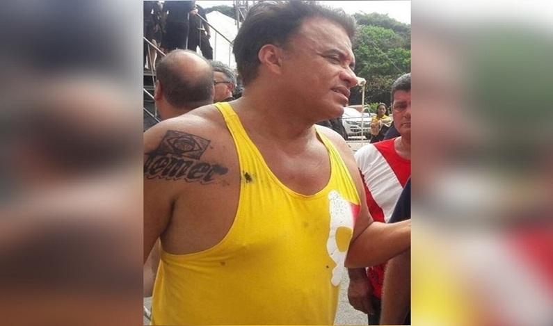 """Wladimir Costa diz que tatuagem em homenagem a Temer """"é verdadeira"""""""