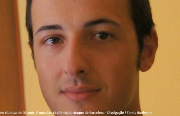 Italiano de férias morreu diante dos filhos no ataque de Barcelona