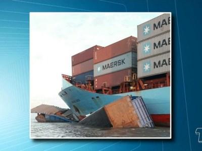 Rebocador de balsa afunda após bater com navio no rio Amazonas; 9 estão desaparecidos