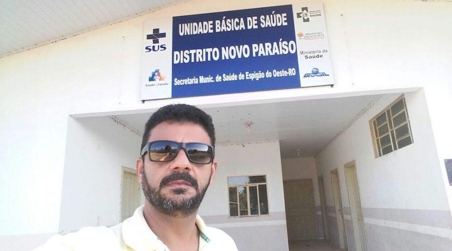 EXCLUSIVO: Secretário de saúde de Espigão é preso, suspeito de matar suposto ex-amante