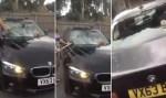 Mulher destrói BMW do marido após descobrir traição; veja vídeo