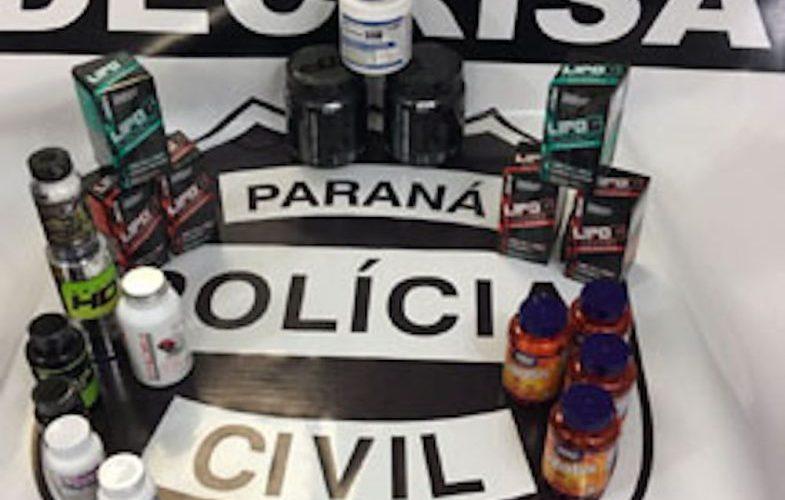 Homem é preso por vender suplementos alimentares ilegais