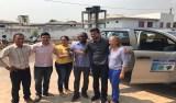 Expedito Netto entrega equipamentos durante visita a municípios do interior