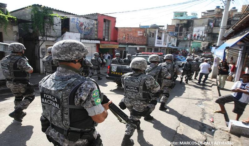 Ministério da Justiça prorroga Força Nacional no Rio até o fim do ano
