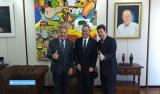 Luiz Cláudio participa de audiência com ministro da Agricultura e Abastecimento