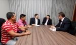 Maurão discute com conselheiro do TCE e representantes estudantis bolsa de estudo na capital