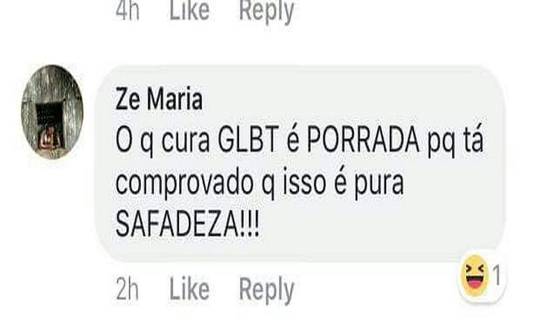 No Acre, servidor público faz comentário homofóbico no Facebook após decisão de juiz do DF
