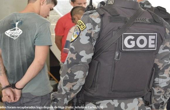 Integrantes de facção criminosa pulam muro e fogem de presídio, em RO