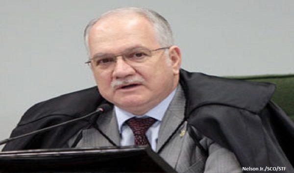 Fachin autoriza inquérito que apura repasses de R$ 40 milhões a políticos do MDB