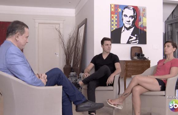 Assista: Filhos de Marcelo Rezende falam sobre namorada do pai