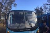 'Assalto' escrito por engano em letreiro de ônibus mobiliza PM em BH