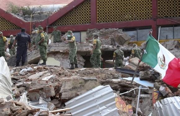 Terremoto no México já matou 273 e deixou mais de 2 mil feridos